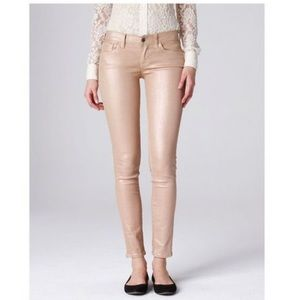 NWT Lucky Brand 2/26 rose gold Charlie skinny jean